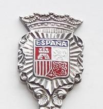 Collector Souvenir Spoon Spain Espana Coat of Arms Crest Emblem - $14.99