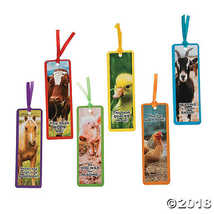 Farm Animal Bookmarks - $7.74