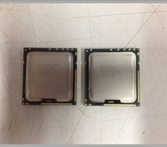 Matched Pair Intel Xeon E5640 Quad Core 2.66GHz SLBVC Socket 1366 CPUs - $30.00