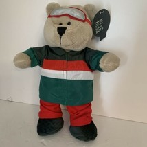 "New Starbucks 19 Limited Ed Bearista Boy Bear Holiday 2019 Plush Red & Green 10"" - $14.99"