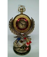 United States Marine Corps Semper Fi Pocket Watch by The Bradford Exchan... - $295.06