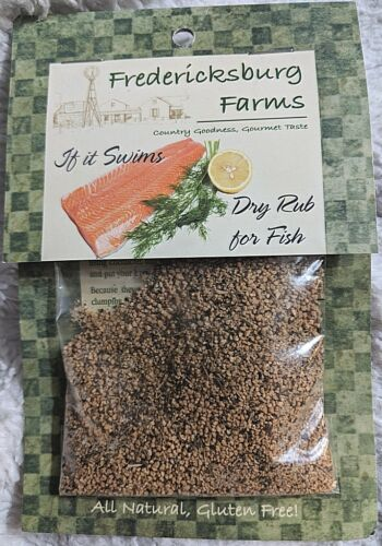 Fredericksburg Farms All Natural Gluten Free If It Swims Dry Rub For Fish