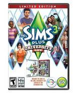 The Sims 3 Plus University Life [Windows] - $9.90