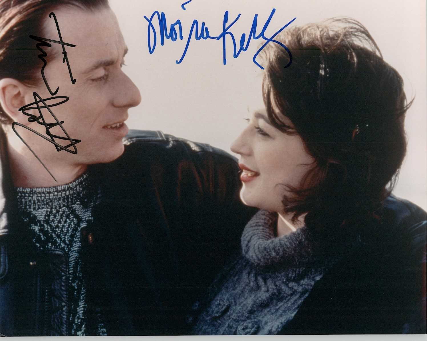 Primary image for Tim Roth & Moira Kelly Signed Autographed Glossy 8x10 Photo