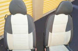 08 Volvo C30 R-DESIGN Front Seats W/ Airbags & Tracks image 6