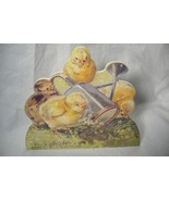 Bethany Lowe Chicks with Water Bucket Dummy Board - $7.10