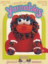 Roary, Bouquet Bernat Crochet-Me Yarnables Pattern Booklet 1611 HTF NEW - $10.95
