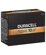 NEW Duracell C Coppertop Alkaline Batteries w/ Duralock Power 12-Pack 1.5 V - $22.70