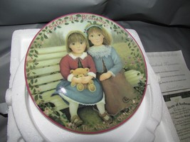 Sisters Are Blossoms First Issue Collector Plate Kindred Moments Chantal... - $19.79