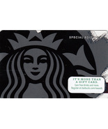 Starbucks 2014 Black Siren Special Edition Collectible Gift Card New Fre... - $2.99