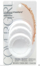 CoverGirl Powder Puff, 3 Each Per Package, Make-Up Masters - $9.74