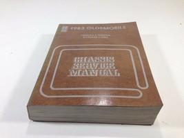 1983 Oldsmobile Chassis Service Manual OEM Original Firenza Omega Cutlas... - $14.99