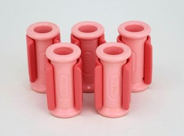 Vintage Little Tikes Beauty Salon Hair Curlers Replacement Pink Rollers Lot of 5 - $19.95