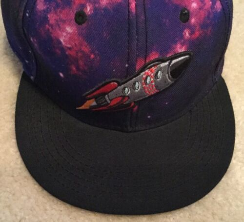 Nike x Caylor & Sons All Star Game H-Town Galaxy 5-Panel Purple SnapBack Hat Lid