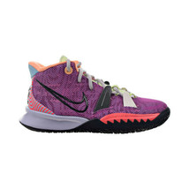 Nike Kyrie 7 'Creator' Big Kids' Shoes Active Fuchsia-Flash Crimson CT4608-601 - $88.00