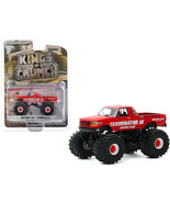 1993 Ford F-250 Monster Truck Terminator III Red Kings of Crunch Series ... - $32.51
