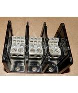 Marathon 1433555 Power Distribution Terminal Block 600V 350 Amp CU 270A ... - $28.99