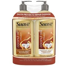 Suave Professionals Damage Repair Shampoo & Conditioner 40 oz./ 1.18 l, ... - $19.99