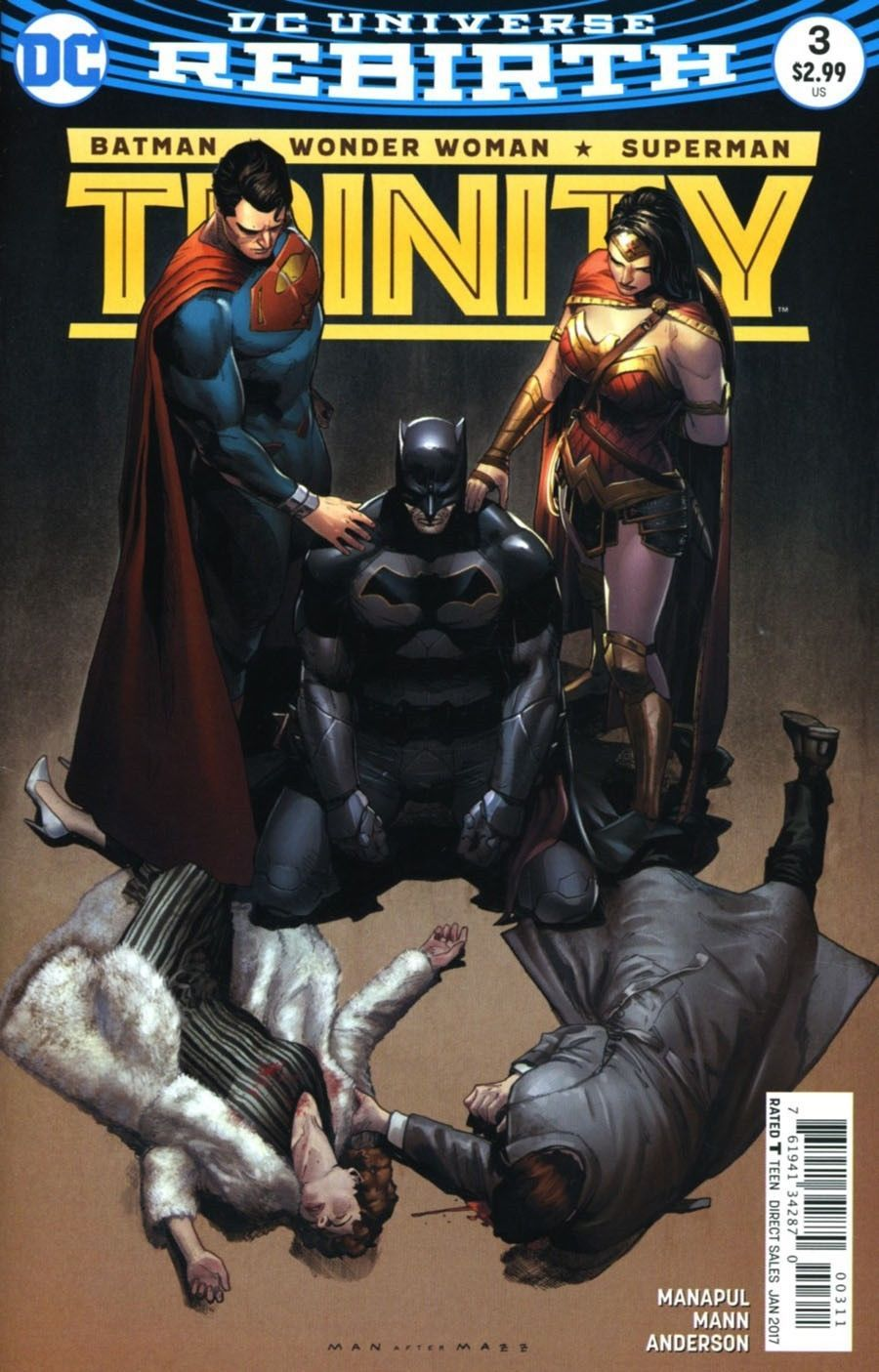Primary image for Trinity # 3 (2016) - DC Comics Rebirth First Print