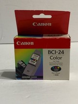 NEW Canon BCI-24 Color Printer Ink Cartridge - $3.99