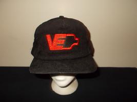 VTG-1990s Viking Electric  Supply Electricians corduroy snapback hat sku22 - $27.83