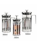 LOULONG® 350ml 600ml 1000ml Vertical Lines Coffee Pot Coffee Maker Kettl... - $25.18