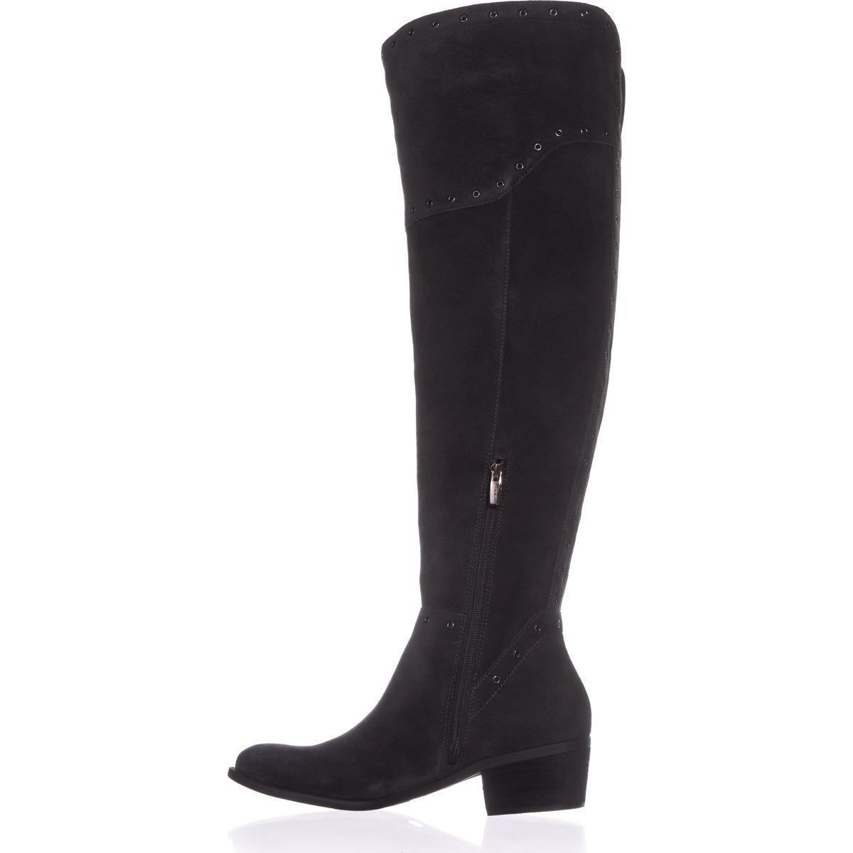 Vince Camuto Bestan Wide Calf Over The Knee Boots Granite