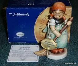 """Little Sweeper"" Hummel Figurine #171/0 TMK8 RARE FINAL ISSUE WITH ORIGI... - $140.64"