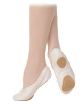 Grishko Ultimate # 4 Adult Size 10.5 B Pink Canvas Split Sole Ballet Sli... - $16.82