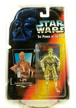 Kenner Star Wars Power Of The Force C-3PO Japanese THX Red Card Rare Potf Figure image 1
