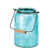 Gallery of Light Blue Mason Jar Candleholder - $27.64