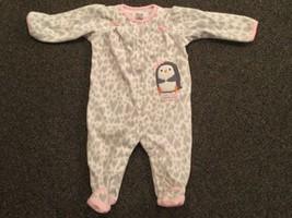 Carter's Child Of Mine Girl's Sleeper, Size 3 - 6 Months - $4.75