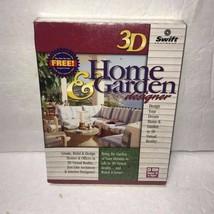 3D Home & Garden Designer software Windows 98 sealed - $9.79