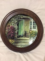 THE WOODEN BUTTER CHURN collector plate MAURICE HARVEY Country Nostalgia - $26.89