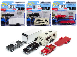 """Truck and Trailer\"" Series 2 Set A of 3 Trucks \""Chevy Truck 100th Ann... - $67.30"