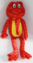 """Plush Appeal Red Plush FROG 14"""" Soft Toy Yellow... - $14.45"""
