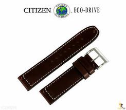 Citizen 59-S53290 Original 22mm Cuir Marron Bracelet de Montre Compatible avec - $69.32