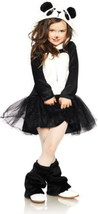 Leg Avenue Pretty Panda Bear Plush Fluffy Child Girls Halloween Costume ... - $22.50
