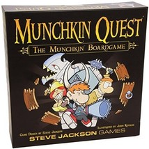 Munchkin Quest Card RPG Monster Party Game Boar... - $52.46