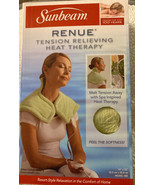 Sunbeam Renue Heat Therapy Neck Shoulder Wrap Heating Pad with Moist/Dry... - $34.99