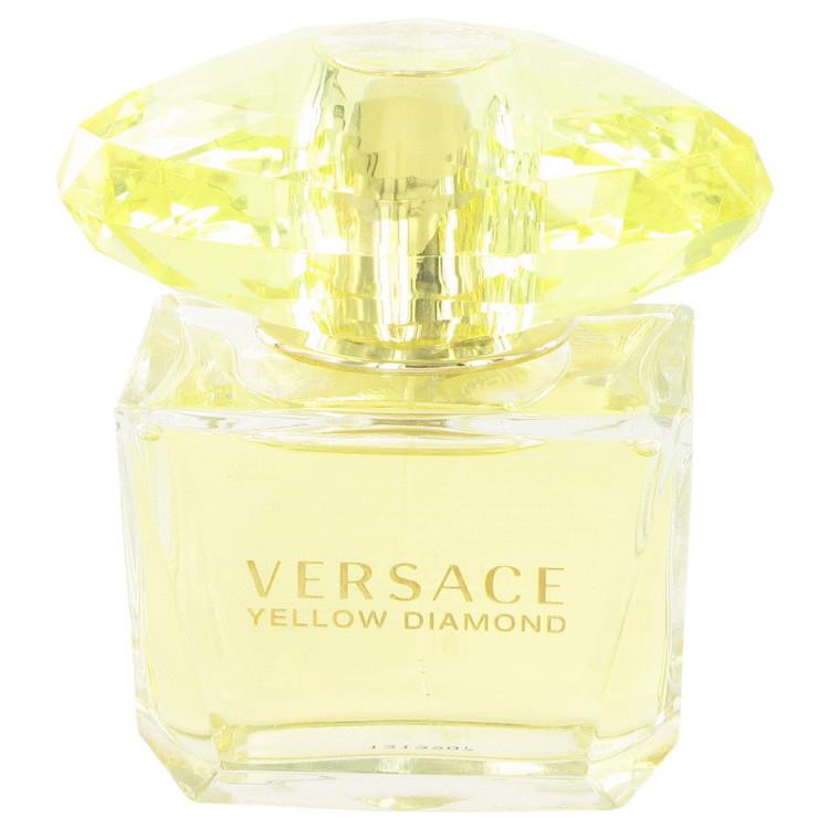 Aaversace yellow diamond 3.4 oz edp perfume