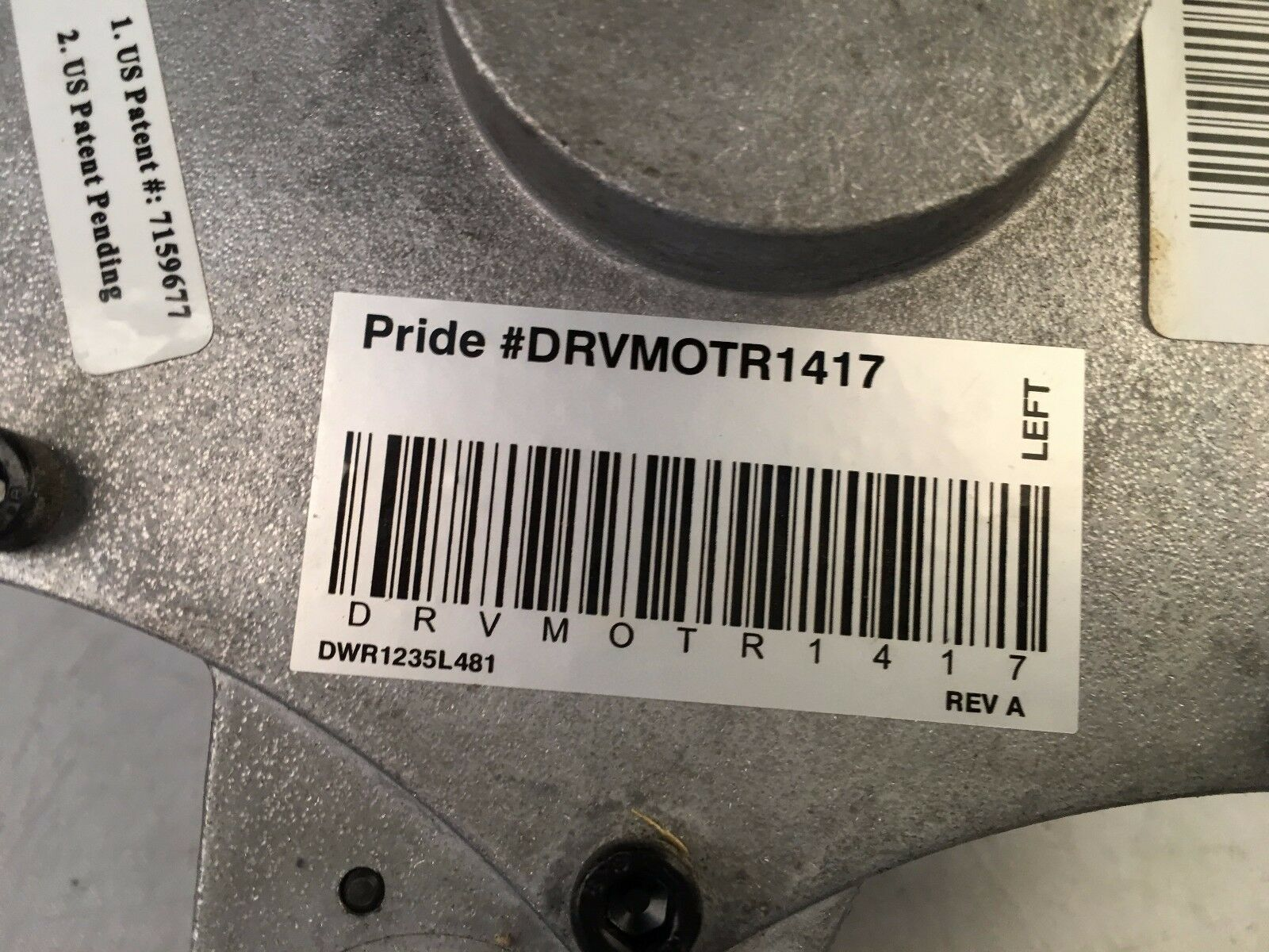 Pride Jazzy TSS 300 - Pair of Motors - Tested - For Power WheelChairs image 8