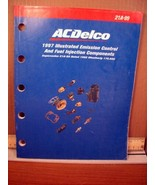 ACDelco 1997 Illustrated Emission Control and Fuel Injection Components ... - $8.99