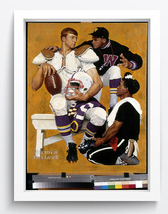 norman rockwell Art oil painting printed on canvas home decor  - $14.99+