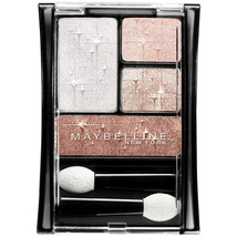 Maybelline New York Expert Wear Luminous Lights Eyshadow Quad, Rose Ligh... - $6.99