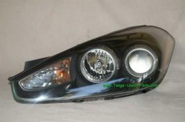 07-08 Hyundai Tiburon Headlight Head light Lamp Driver Side - LH **POLISHED**, image 2