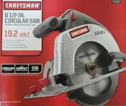 "Craftsman C3 19.2-Volt 6-1/2"" Cordless Circular Saw ( 41662 ) ~ NEW in BOX - $49.49"