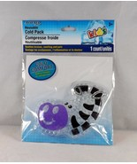Assured Reusable Cold Pack For Ouchies and BooBoos - New - Zebra - $4.74