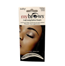 Godefroy MyBrows Natural Black - Medium Arch - $7.71