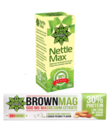 Protein Bar Peanut Magnesium Muscle Recovery + Nettle Root Immune System... - $26.72